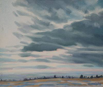Painting - Sunset's Lost Horizon by Phil Chadwick