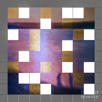 Digital Art - Sunset's Mosaic 004  13 01 2016 by Algirdas Lukas