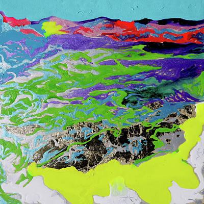 Sunsetting Haleakala Art Print