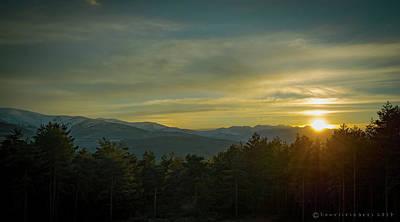 Photograph - Sunsetting Over The Gredos by Henri Irizarri