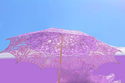 Photograph - Sunshade In Pastel Color by Viktor Savchenko
