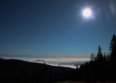 Photograph - Sunshine And Cloud Cover by Perggals - Stacey Turner