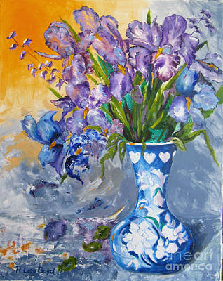 Painting - Sunshine And Flowers by Lisa Boyd
