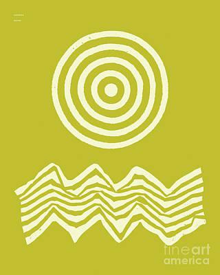Seascape Digital Art - Sunshine And Waves 1 by Jazzberry Blue
