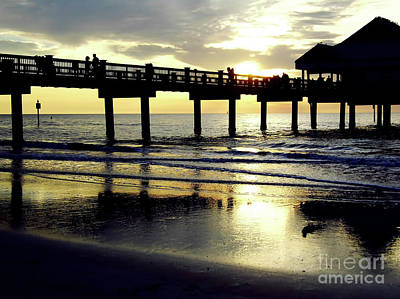Photograph - Sunshine At The Pier 60 by D Hackett