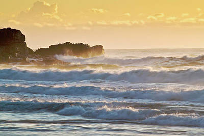 Photograph - Sunshine Beach At Sunrise  by Robert Munden