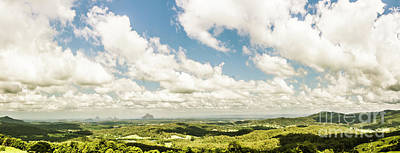 Sunshine Coast Hinterland Panoramic  Print by Jorgo Photography - Wall Art Gallery