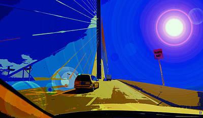 Sunshine Crossing Art Print by David Lee Thompson