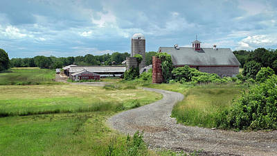 Photograph - Sunshine Dairy Farm, Newbury, Ma by Betty Denise