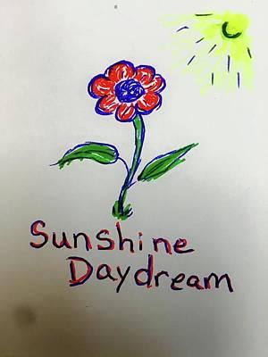Daydreams Art Drawing - Sunshine Daydream by Edward Paul