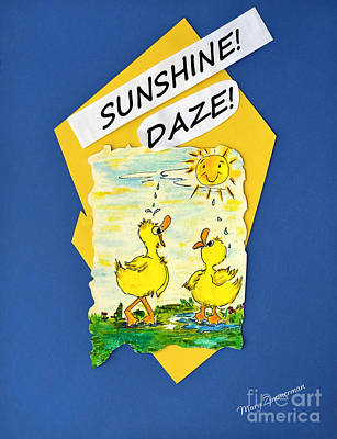 Painting - Sunshine Daze by Mary Zimmerman