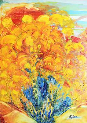 Painting - Sunshine by Evelina Popilian