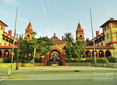 Photograph - Sunshine Flagler College by D Hackett