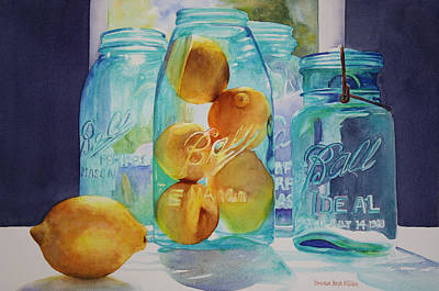 Painting - Sunshine In A Jar by Brenda Beck Fisher