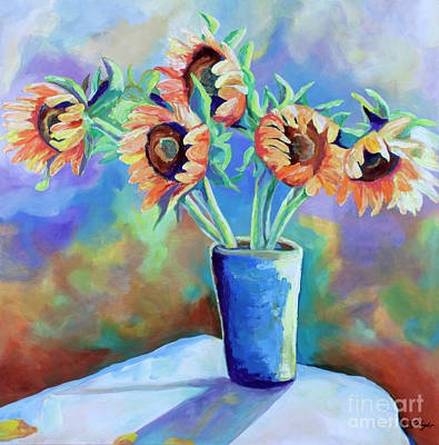Painting - Sunshine In A Vase by Jody Wright