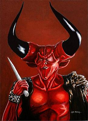 Tim Curry Painting - Sunshine Is My Destroyer by Al  Molina