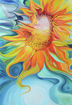 Painting - Sunshine by Karen Hurst