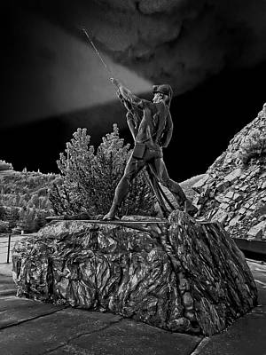 Sunshine Mine Disaster Memorial -  Idaho State Art Print by Daniel Hagerman