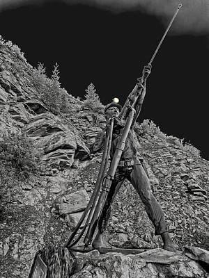 Sunshine Mine Fire Monument - Idaho State Art Print by Daniel Hagerman