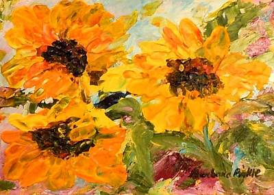 Painting - Sunshine On A Cloudy Day by Barbara Pirkle