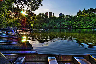 Fruits And Vegetables Still Life - Sunshine on Central Park Lake by Randy Aveille