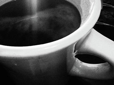Photograph - Sunshine On My Coffee by Susan Maxwell Schmidt