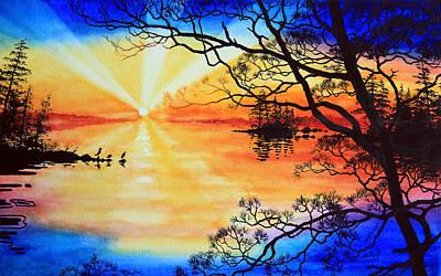 Sunshine On My Shoulders Art Print by Hanne Lore Koehler