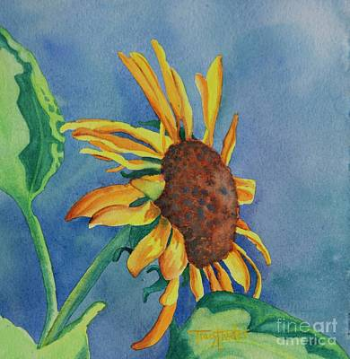 Sunshine On My Shoulders Art Print by Tracy L Teeter