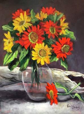 Painting - Sunshine by Randy Burns