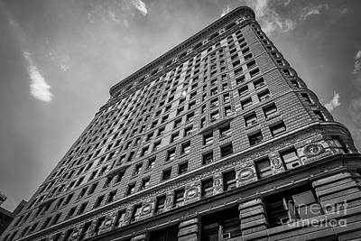 Photograph - Sunshine Reflection On The Flatiron Building by Alissa Beth Photography