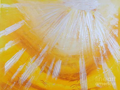 Painting - Sunshine by Ron Labryzz