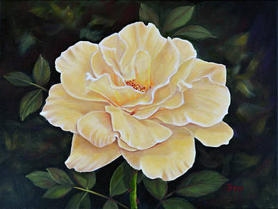 Painting - Sunshine Rose by Jimmie Bartlett