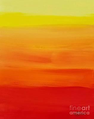 Painting - Sunshine by Sean Brushingham