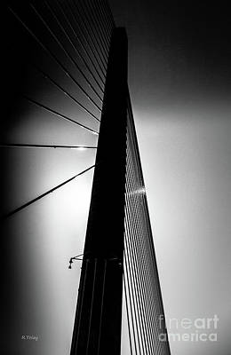 Photograph - Sunshine Skyway Bridge Span by Rene Triay Photography