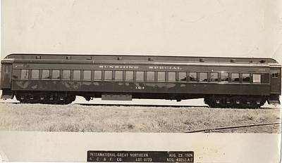 Photograph - Sunshine Special Passenger Car by Missouri Pacific Historical Society