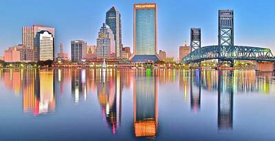 Photograph - Sunshine State Panoramic In Jacksonville by Frozen in Time Fine Art Photography