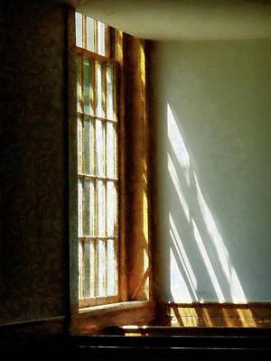 Shadows Photograph - Sunshine Streaming Through Window by Susan Savad