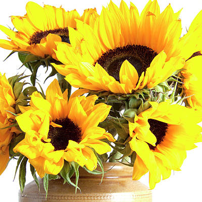 Photograph - Sunshine Sunflowers by Ethiriel Photography