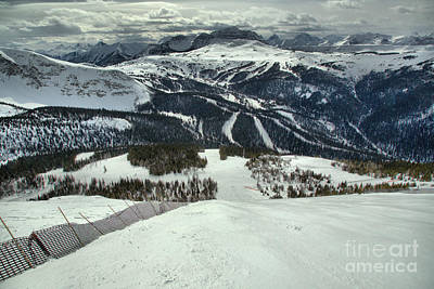 Photograph - Sunshine Village From Goats Eye by Adam Jewell