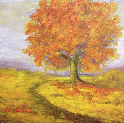 Painting - Sunshiney Kind Of Morning by T Fry-Green