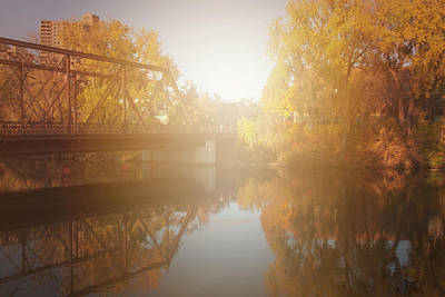Photograph - Sunshiny Autumn Day by Angela King-Jones