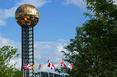 Photograph - Sunsphere Knoxville by Bob Pardue