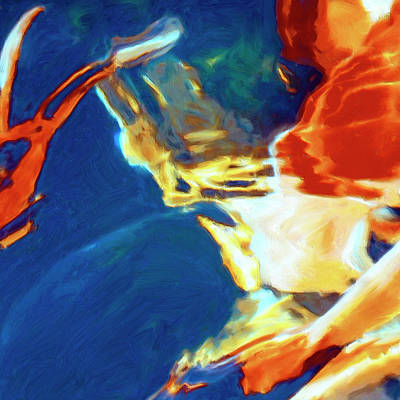 Art Print featuring the painting Sunspot by Dominic Piperata