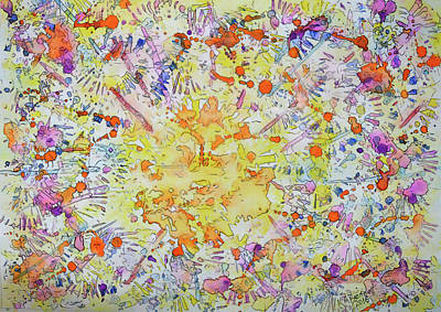Painting - Sunspot by Kerry Bennett
