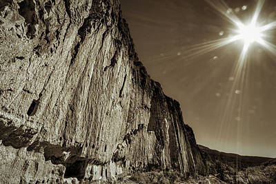 Photograph - Sunstar At Bandelier by Stuart Litoff