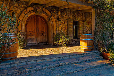 Photograph - Sunstone Winery by Thomas Hall