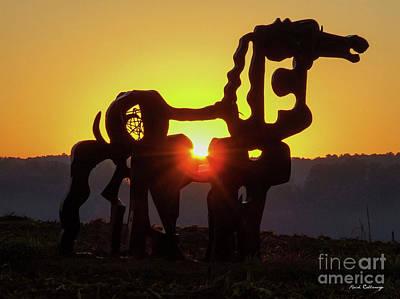 Photograph - Suntan 3 The Iron Horse Collection Art by Reid Callaway