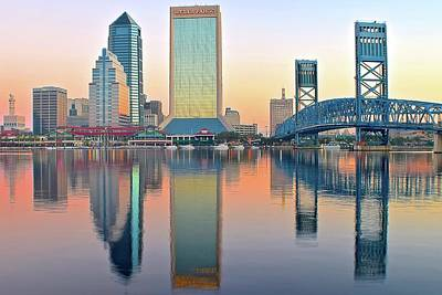 Photograph - Sunup In Jacksonville by Frozen in Time Fine Art Photography