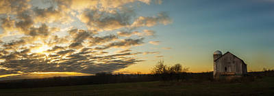 Photograph - Sunup On The Farm by Chris Bordeleau