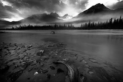 Photograph - Sunwapta River, Jasper by Dan Jurak